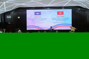 Vai trò của nhà báo trẻ và thanh niên trong việc thúc đẩy tình hữu nghị giữa Việt Nam - Campuchia