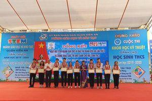 Sôi nổi ngày hội STEM ngành Giáo dục quận Kiến An (Hải Phòng)