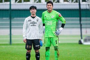 Đối mặt thủ môn Thái Lan ở Bỉ, Công Phượng bỏ lỡ cơ hội khó tin