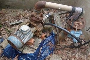 Đâm chết người vì nghi trộm máy bơm nước