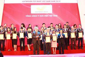 Top 500 VNR: Bưu điện Việt Nam dẫn đầu lĩnh vực bưu chính chuyển phát