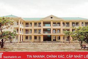 Gần 63 tỷ đồng 'thay áo', Lộc Hà phấn đấu 100% trường đạt chuẩn quốc gia vào năm 2020
