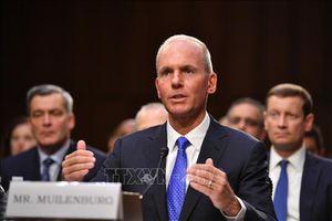 CEO Boeing sẽ không nhận các khoản tiền đãi ngộ lên tới 'hàng chục triệu USD'