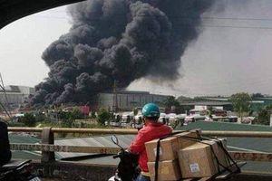 Diễn biến vụ cháy công ty phế liệu ở Bắc Ninh nghi do trẻ nướng khoai