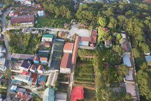 Nhà hàng 'Trên đỉnh đồi trăng' ở Đà Lạt lấn chiếm 1.884m2 đất rừng phòng hộ