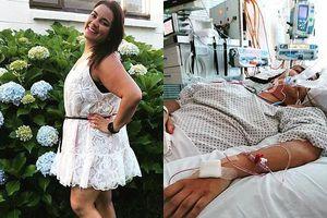 Trong chưa đầy 1 ngày, nữ dược sĩ bị tê liệt từ chân đến đỉnh đầu