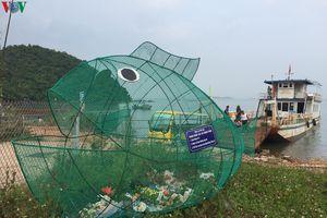 Độc đáo mô hình 'cá ăn rác thải nhựa' ở Quảng Ninh