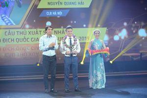 Quang Hải nói gì khi ẵm giải Cầu thủ xuất sắc nhất V-League 2019?