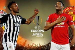 TRỰC TIẾP MU - Partizan: Quỷ đỏ giành vé đi tiếp ở Europa League?