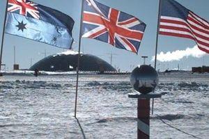 Nóng bỏng cuộc chạy đua về Nam Cực