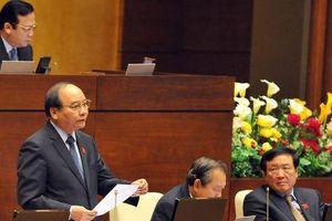 Đại biểu Quốc hội đặt câu hỏi với Thủ tướng, nghi ngờ có việc cạnh tranh không lành mạnh trong vụ nước sạch Sông Đà bị nhiễm dầu thải