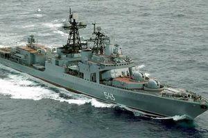 Tàu chống ngầm cỡ lớn của Nga nhận tên lửa siêu thanh Zircon cực mạnh