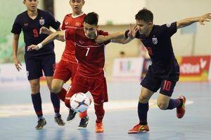Thái Lan, Việt Nam, Indonesia và Malaysia cạnh tranh danh hiệu ĐT Futsal của năm