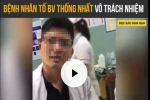 Phê bình bác sĩ không khám bệnh nhân sau 5 tiếng nhập viện
