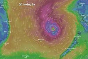 Đường đi của bão Nakri ngày 8/11