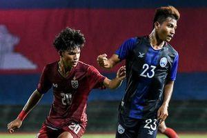 U19 Campuchia thắng Thái Lan tại vòng loại châu Á
