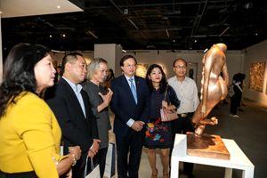 Tọa đàm về mỹ thuật châu Á đương đại: Thúc đẩy khát vọng vươn ra thế giới
