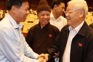 Tổng Bí thư Nguyễn Phú Trọng dự phiên chất vấn