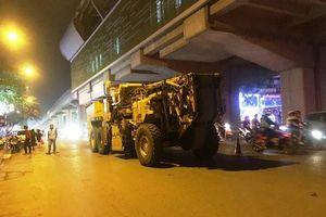 Hà Nội bắt đầu cải tạo, sửa chữa mặt đường Nguyễn Trãi