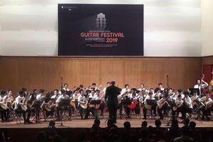 Sôi nổi Liên hoan Guitar quốc tế Sài Gòn