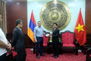 Đoàn quốc hội Armenia thăm Đà Nẵng