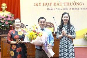 Quảng Ngãi bầu chức danh Phó Chủ tịch HĐND