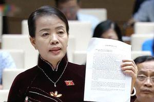 ĐB mang tâm thư giáo viên Hà Nội ra nghị trường: Rất nhiều giáo viên đồng cảnh