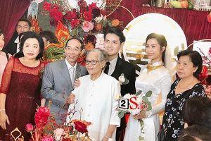 Gia đình Ông Cao Thắng: 'Cảm ơn nhà gái đã cho chúng tôi người con dâu tuyệt vời'