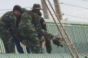 Thiếu tá quân đội tử vong trong lúc kéo cáp viễn thông