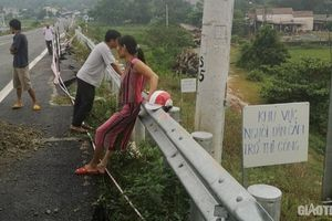 Đảm bảo an toàn lưu thông cầu đường dẫn lên cao tốc Đà Nẵng - Quảng Ngãi