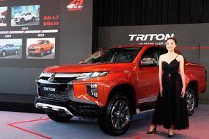 Mitsubishi Triton 2020 ra mắt với 12 trang bị mới, giá 865 triệu đồng