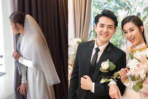 Đám cưới của Đông Nhi và Ông Cao Thắng: Hình ảnh nôn nóng chờ chồng từ xa của cô dâu khiến dân tình phấn khích