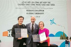 Ra mắt trường mầm non Reggio Emilia Approach đầu tiên tại Việt Nam