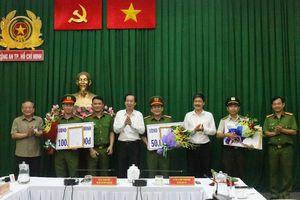 TP. Hồ Chí Minh: Khen thưởng 3 đơn vị khám phá nhanh vụ án Quân 'xa lộ' bị chém tử vong
