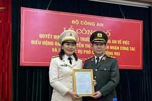 Nữ Phó giám đốc Công an tỉnh Đắk Lắk làm Phó cục trưởng Bộ Công an