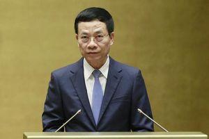 Bộ trưởng Nguyễn Mạnh Hùng: 'Báo hóa' tạp chí điện tử là sai luật