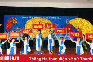 Tuyên truyền, phổ biến giáo dục pháp luật trong LLVT TP Thanh Hóa