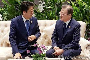 Nhật - Hàn cải thiện quan hệ