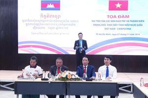 Vai trò của các nhà báo trẻ và thanh niên trong việc thúc đẩy tình hữu nghị giữa Việt Nam - Campuchia