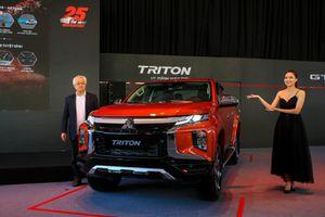 Mitsubishi Triton 2020 ra mắt: Nâng cấp trang bị, giá từ 600 triệu đồng