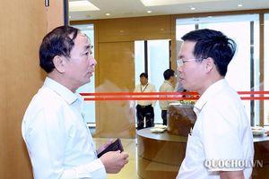 Hình ảnh bên lề phiên chất vấn Sáng ngày 08/11, kỳ họp thứ 8 Quốc hội khóa xiv