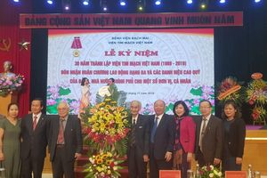 Viện Tim mạch Việt Nam tổ chức lễ kỉ niệm 30 năm thành lập