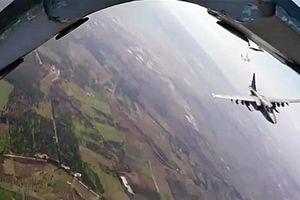 Nga điều chiến đấu cơ tuần tra ở đông bắc Syria