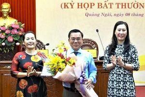 Ông Nguyễn Tấn Đức làm Phó Chủ tịch HĐND Quảng Ngãi