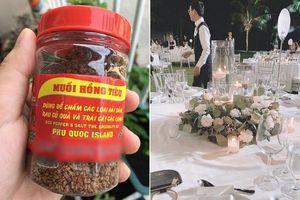 Ngoài loạt nguyên liệu 'đắt xỉu' như bò Wagyu, sò điệp Hokkaido... thì bàn tiệc 'siêu đám cưới' của Đông Nhi còn có 2 đặc sản trứ danh Phú Quốc