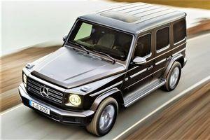 Mercedes Benz G-Class sắp bỏ động cơ xăng, chuyển sang xe điện