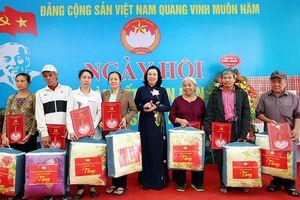 Phó Bí thư Thường trực Thành ủy Ngô Thị Thanh Hằng: Đoàn kết để chung sức xây dựng đô thị văn minh, hiện đại