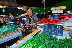 Độc đáo khu chợ không dùng túi nilon