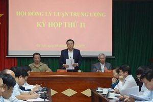 Kỳ họp thứ 11 Hội đồng Lý luận Trung ương