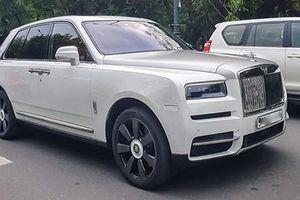 Rolls-Royce Cullinan hơn 41 tỷ ra biển trắng ở Sài Gòn